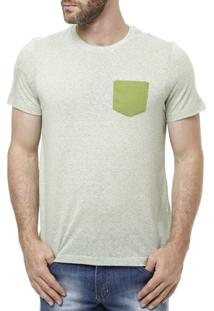 Camiseta Manga Curta Masculina Verde - Masculino