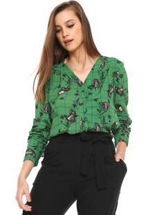 Camisa Lez A Lez Mullet Verde