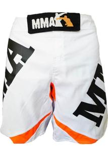 Bermuda Mma Shop Orange & White