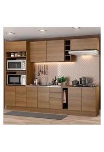 Cozinha Completa Madesa Stella 290001 Com Armário E Balcão Rustic Rustic