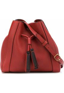 Mulberry Bolsa Bucket Millie Mini - Marrom