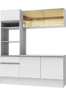 Cozinha Compacta Diamante Com Armário Balcão E Tampo Madesa