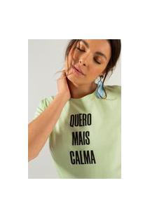 T-Shirt Comfort Verde Tsh23484