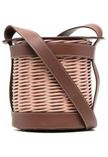 Gatti Straw Shoulder Bag - Rosa