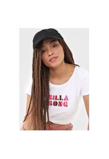 Camiseta Billabong Sol Stripes Branca