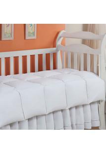 Edredom 100% Pena De Ganso-Baby-100X140-Branco