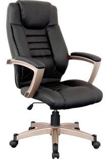 Cadeira Office Catalunha Preto Rivatti Móveis