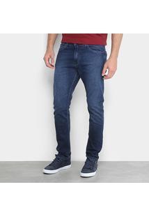 Calça Jeans Slim Calvin Klein 5 Pockets Masculina - Masculino