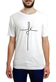 Camiseta Hunter Fé Branca