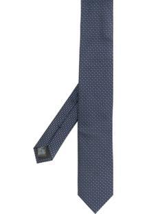 Dolce & Gabbana Gravata Com Padronagem - Azul