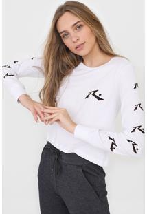 Camiseta Rusty Candy Branca - Branco - Feminino - Dafiti