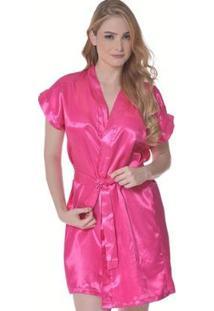 Robe Feminino Adulto Luna Cuore - Feminino-Pink