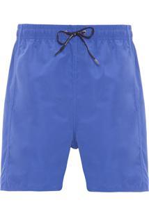 Short Masculino Básico Etiqueta - Azul