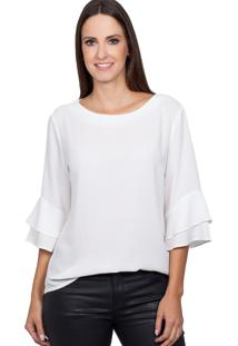 Blusa Love Poetry Off White - Tricae