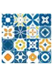 Adesivo De Azulejo - Ladrilho Hidráulico - 371Azpe