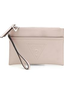 Clutch Guess Lisa Bege