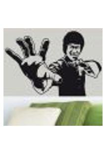 Adesivo De Parede Bruce Lee - Es 70X100Cm
