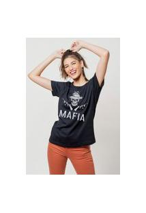 Camiseta Jay Jay Básica Mafia Preta