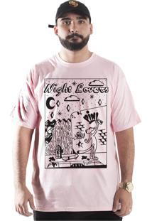 Camiseta Wanted Custom Pink Panter Rosa