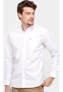 Camisa Lacoste Classic Fit Listras Masculina - Masculino