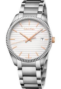 Relógio Calvin Klein K5R31B46 Prata