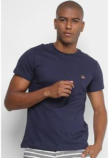 Camiseta Polo Rg 518 Bordado Color Masculina - Masculino