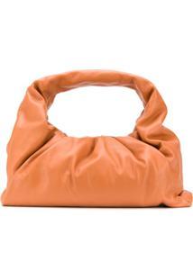 Bottega Veneta Bolsa The Shoulder Pouch - Laranja