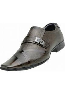 Sapato Social Venetto Italiano - Masculino-Marrom