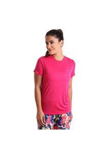Camiseta Basic Em Energy - Rosa - Líquido