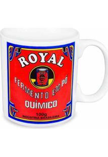 Caneca De Cerâmica Fermento Royal 300 Ml