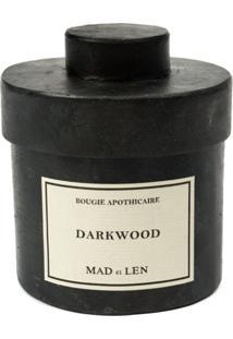 Mad Et Len Vela 'Darkwood' - Preto