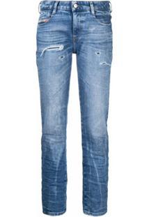 Diesel Calça Jeans D-Rifty - Azul