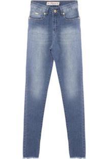 Calça Jeans Feminina Aleatory Dark - Feminino