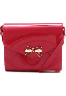 Bolsa Petite Jolie Laço Vermelha