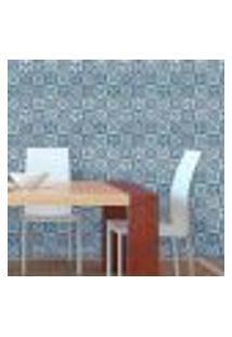 Papel De Parede Autocolante Rolo 0,58 X 3M - Azulejo Portugues 285993236