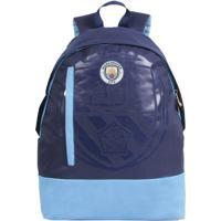 538ac4769 Mochila Manchester City Marinho E Azul Fut Fanatics