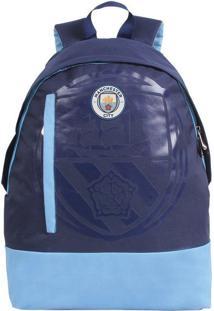 Mochila Manchester City Marinho E Azul