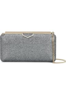 Jimmy Choo Clutch 'Ellipse' - Metálico