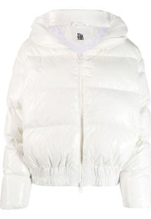 Bacon Zipped Puffer Jacket - Branco