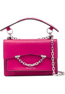Karl Lagerfeld Bolsa Tiracolo 'Karl Seven' - Rosa