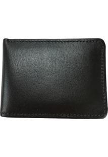 Carteira Porta Cartão Em Couro Bennesh T19-015