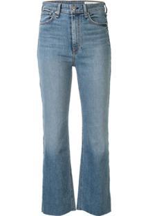 Rag & Bone Calça Jeans Bootcut Com Cintura Média - Azul