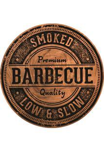 Jogo Americano Bendita Feitura Barbecue Em Ps Marrom