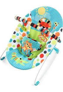 Cadeira De Descanso Safari - Azul Claro & Verde Claro