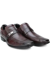 Sapato Social Curo Mariner Smart Masculino - Masculino-Marrom