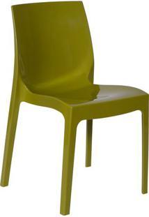 Cadeira Ice- Verde- 81X50X40Cm- Or Designor Design
