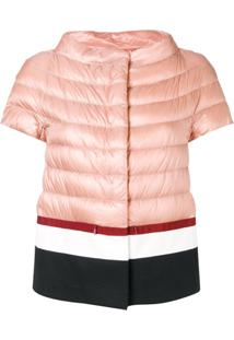 Herno Short Sleeve Puffer Jacket - Rosa