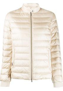 Woolrich Feather Down Padded Jacket - Neutro