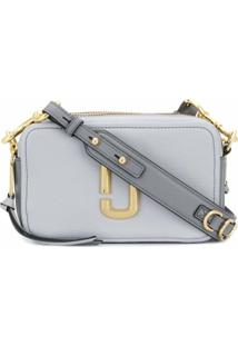 Marc Jacobs Bolsa Transversal The Softshot 21 - Cinza