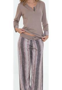 Pijama Comprido Recco 08341 - Feminino